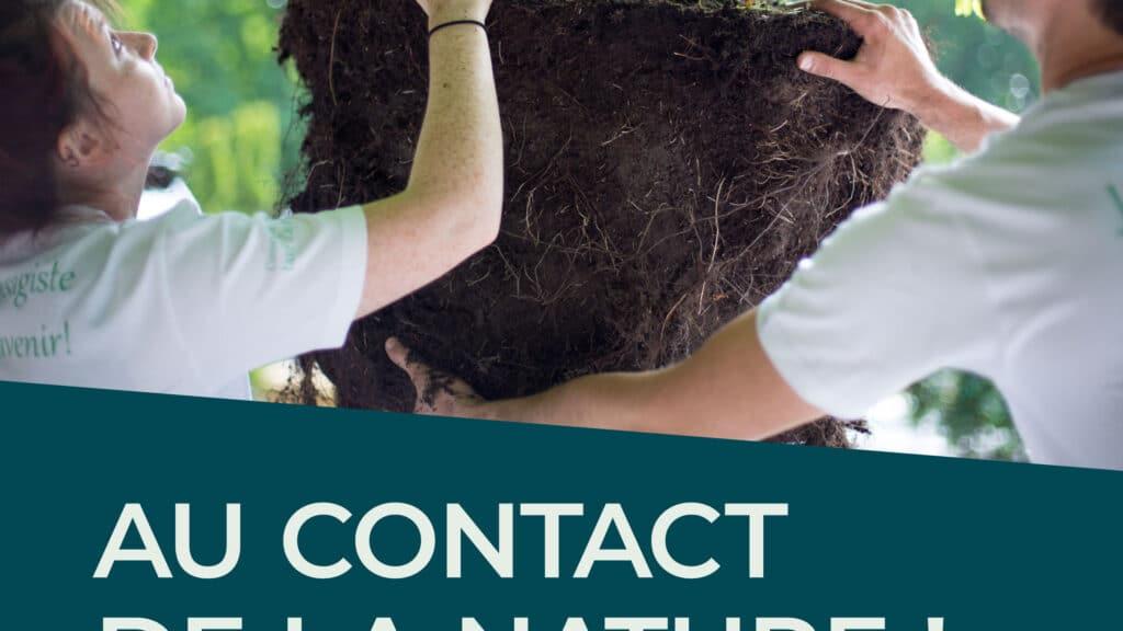 logo au contact de la nature